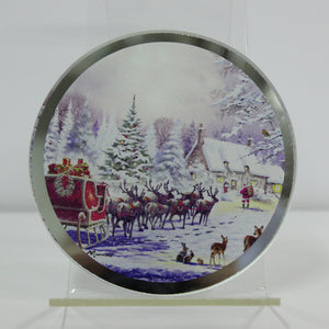 Lesser & Pavey LP51083 The Magic Of Christmas Candle Plate 10.2cm