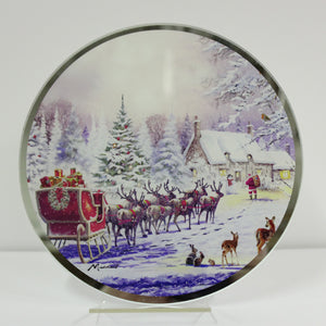 Lesser & Pavey LP51084 The Magic Of Christmas Candle Plate 20.6cm