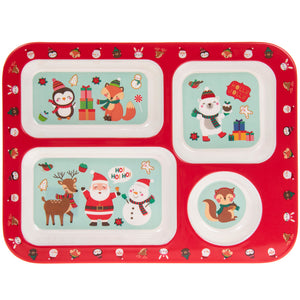 Lesser & Pavey LP51262 Christmas Melamine Eating Tray