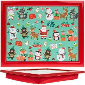 Lesser & Pavey LP51264 Christmas Small Lap Tray - 35x28cm