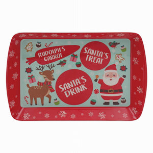 Lesser & Pavey LP51379 Christmas Melamine Treat Tray