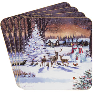 Lesser & Pavey LP68028 The Magic Of Christmas Coasters - Set of 4
