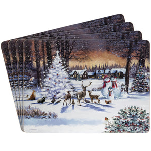 Lesser & Pavey LP68029 The Magic Of Christmas Placemats - Set of 4