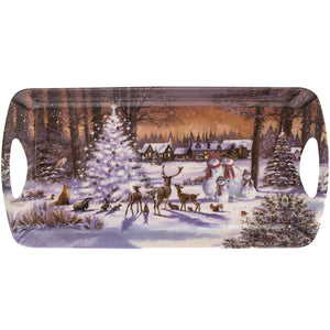 Lesser & Pavey LP68031 The Magic Of Christmas Melamine Tray - Medium