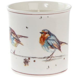 Lesser & Pavey LP68225 Winter Robins Vanilla Cinnamon Scented Candle