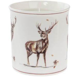 Lesser & Pavey LP68238 Winter Stags Vanilla Cinnamon Scented Candle