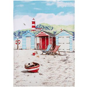 Lesser & Pavey LP93498 Sandy Bay Tea Towel 50cm x 70cm