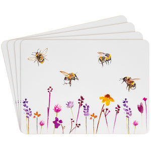 Lesser & Pavey LP93889 Set of 4 Placemats - Busy Bees