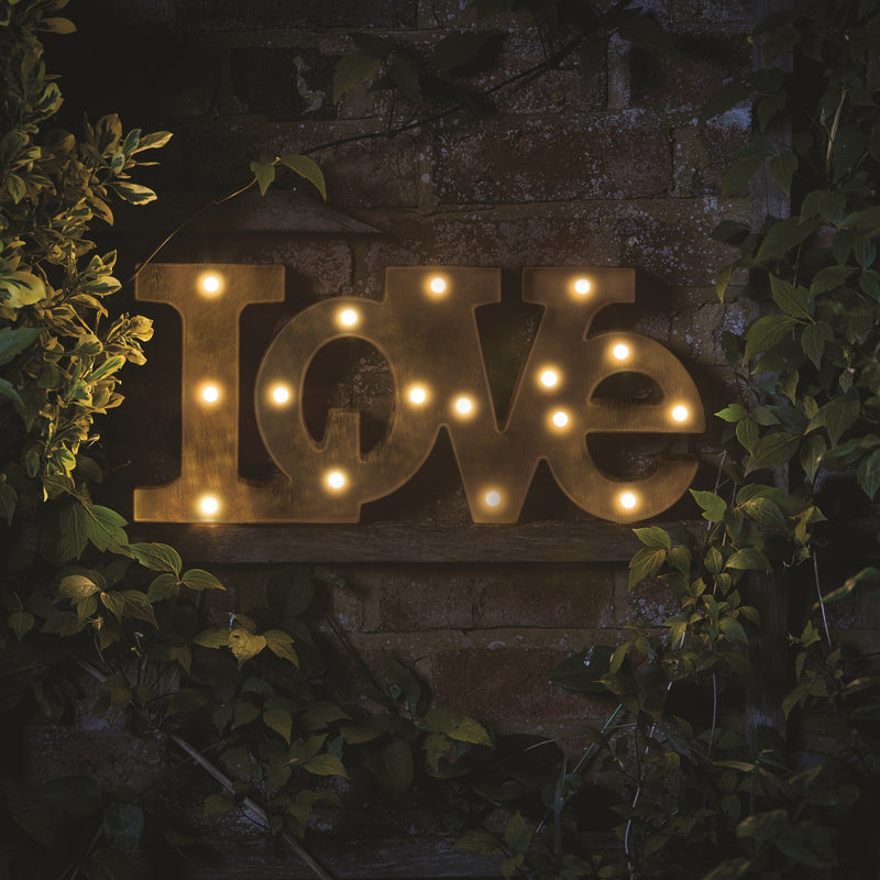Outside In 3180339 Lumiéres Light Up Sign LOVE
