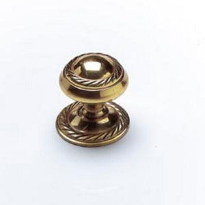 Best 47217 Door Knob Georgian Brass 25mm Dia