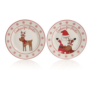 Premier Cookies For Santa Plate 20cm - Assorted
