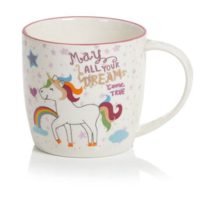 Premier MO195243 Ceramic Unicorn Dreams Mug 10cm
