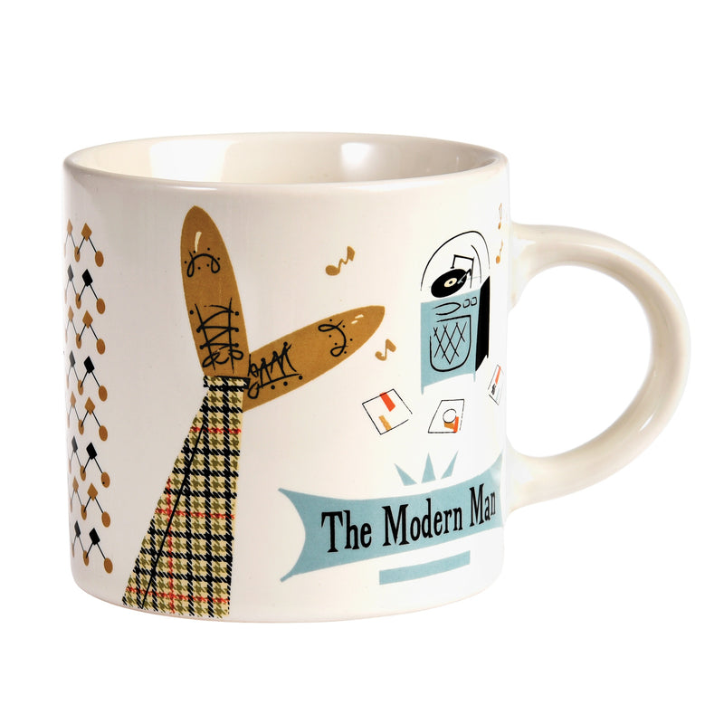 Rex London 27298 Ceramic Mug - The Modern Man