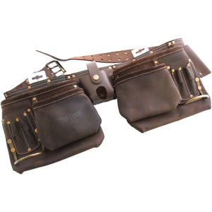 Amtech N1055 12 Pocket Heavy Duty Leather Tool Belt