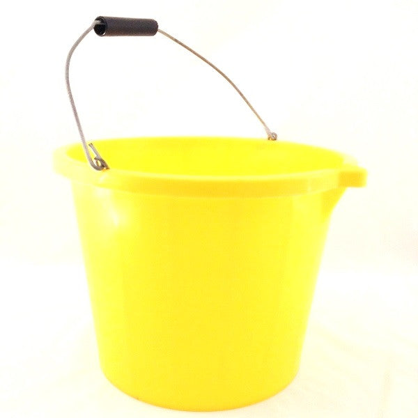 Airflow PB1003-Y Builders Bucket Yellow 3 Gallon