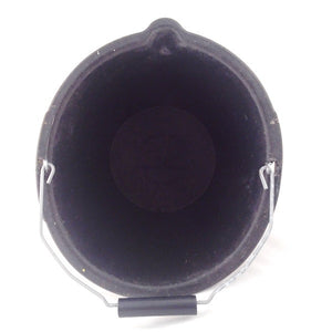 Airflow PB1008 Rubbatex Bucket Black 3 Gallon