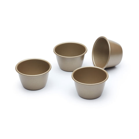 Paul Hollywood PHDARIOL Set of 4 Non-Stick Dariole Moulds