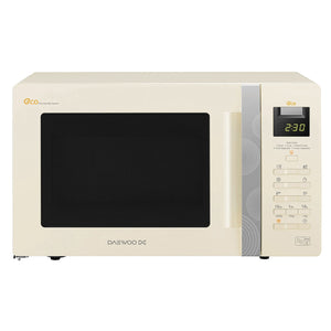 Daewoo KOR6A0RC Microwave Oven Touch Control 800w Cream