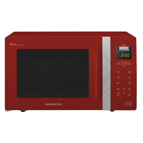 Daewoo KOR6A0RR Microwave Oven Touch Control 800w Red