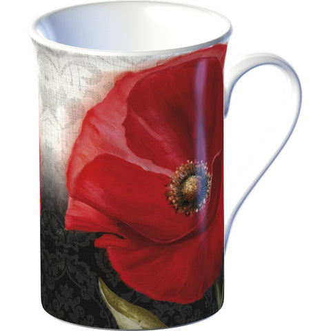 Creative Tops 5136850 Everyday Home Fine China Mug - Poppy Flair