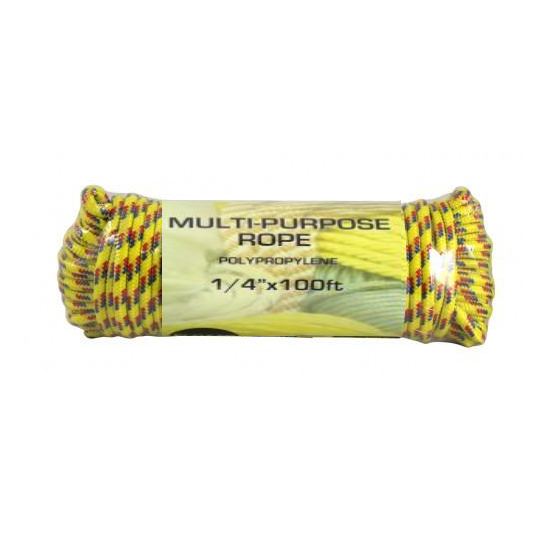"1/4"" x 100FT Multipurpose Rope"