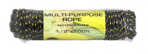 "1/2"" x 100FT Multipurpose Rope"