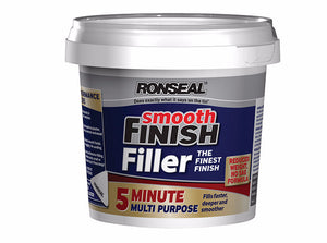 Ronseal Smooth Finish 5 Minute Multi Purpose Filler - Various Sizes