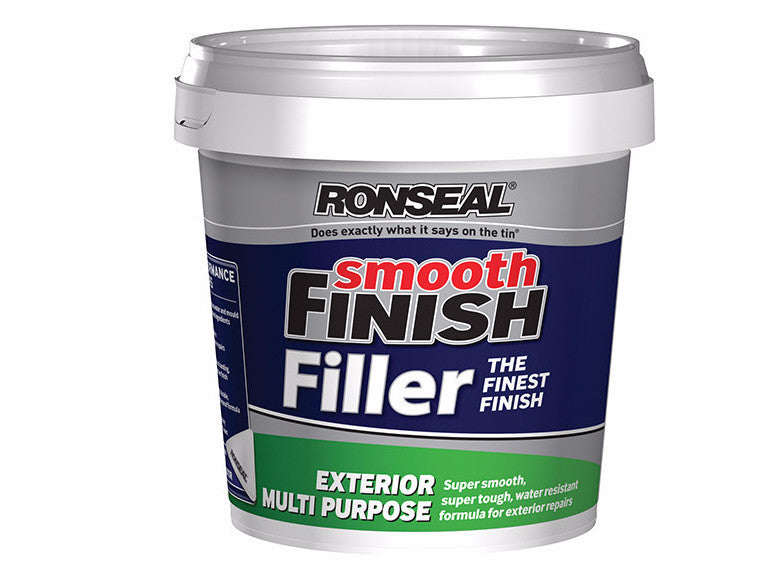 Ronseal Smooth Finish Exterior Multi Purpose Ready Mix Filler - Various Sizes