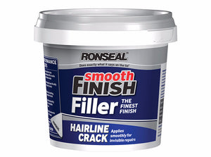 Ronseal Smooth Finish Hairline Crack Filler - Various Sizes