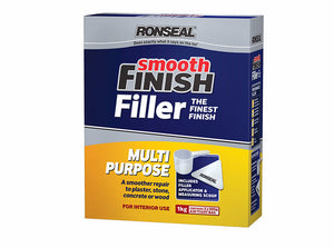Ronseal Smooth Finish Multi Purpose Wall Powder Filler - Various Sizes