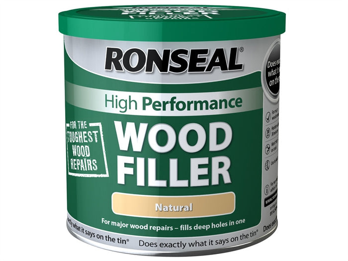 Ronseal High Performance Wood Filler 550g