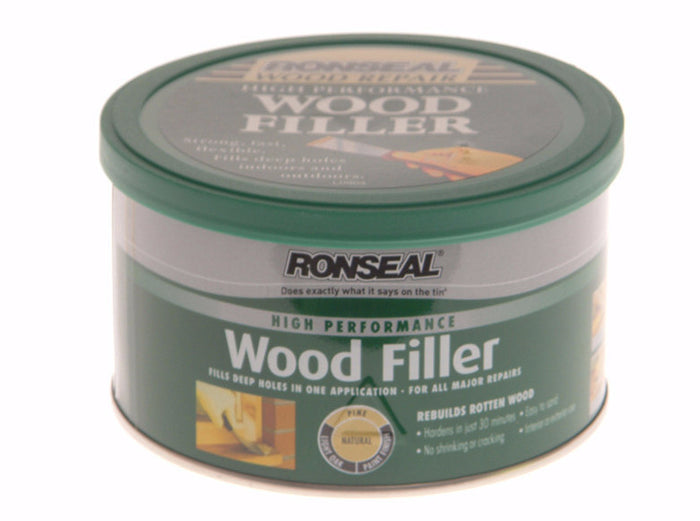 Ronseal High Performance Wood Filler 275g - Various Colours