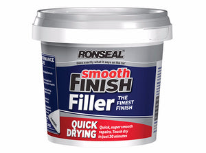 Ronseal Smooth Finish Quick Drying Multi Purpose Filler - Various Sizes