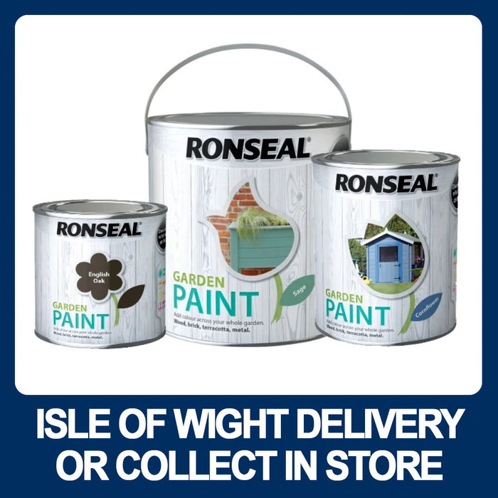 Ronseal Garden Paint - Assorted Colours/Sizes