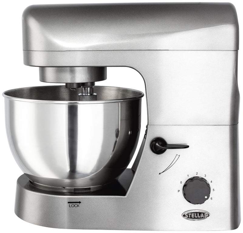 Stellar SEA29 Stand Mixer 650 Watt with Attachments