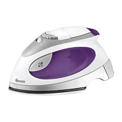 Swan SI3070N Travel steam iron - stainless steel sole plate.