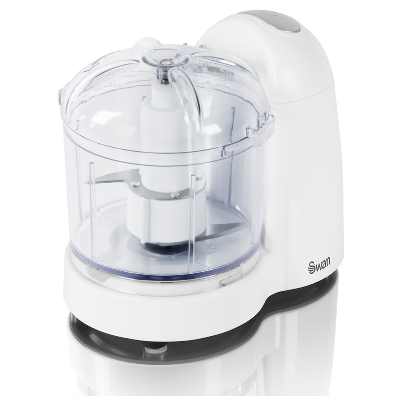 Swan SP10120N White Mini Food Chopper 150w
