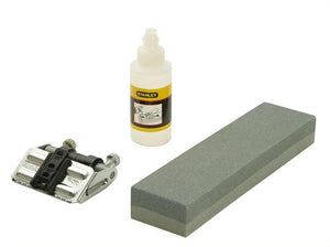 Stanley 016050 Oilstone 200mm, Oil & Honing Guide