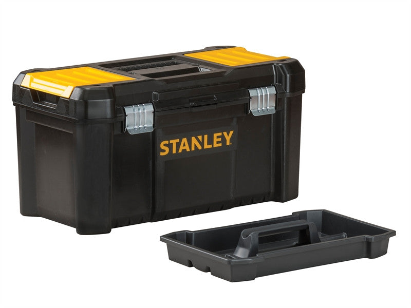 Stanley 175515 Basic Toolbox with Organiser Top 12.1/2in