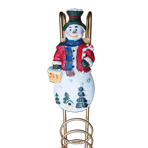 Premier Decorations AC052067 Christmas Card Holder - Snowman