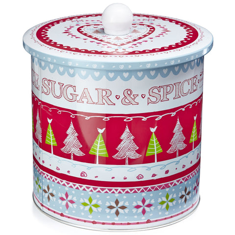Cooksmart Biscuit Barrel - Sugar & Spice