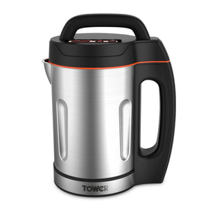 Tower T12031 Soup Maker 1.6Ltr Stainless Steel