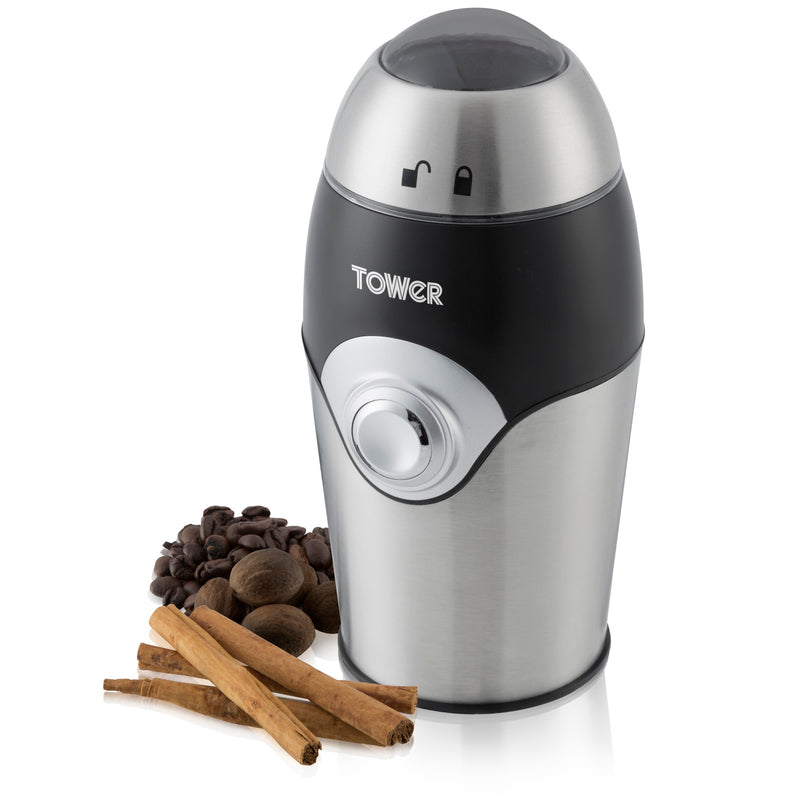 Tower T13004 Coffee, Nut & Spice Grinder 150w