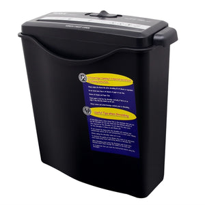 Texet PS-SC1 Strip Cut Paper Shredder A4 6 Sheets - Black