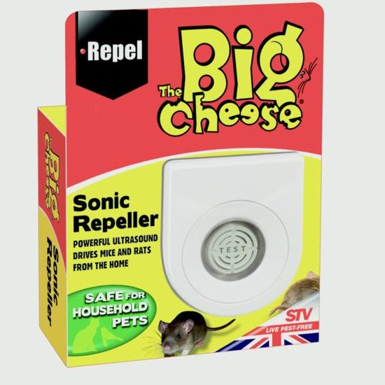 The Big Cheese STV717 Sonic Mouse & Rat Repeller