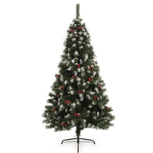 Premier Decorations TR600ST Snow Tipped Christmas Tree 6ft (1.8Mtrs)
