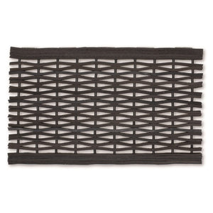 Recycled Tyre Link Rubber Scraper Mat - Various Sizes