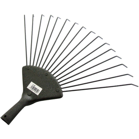 Amtech U3300 16 Tooth Lawn Rake Head Only