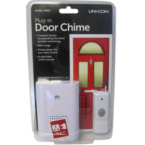 Uni-Com 62189 Plug-In Door Chime
