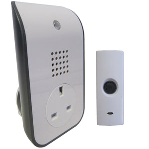 Uni-Com 62202 Curve Plug-Through Door Chime